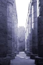 Columns - Aswan, Egypt