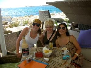 Us in Paros