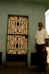 Man in Door - Apaneca, El Salvador