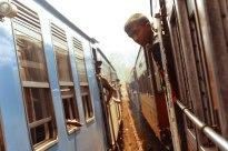 Boy on Indian Train - Erin J. Bernard