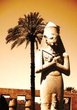 Statue - Aswan, Egypt