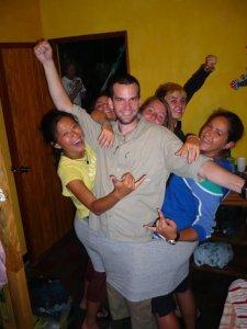 Backpackers: 1 Giant Underwear: 0