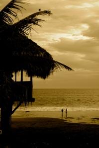 Sunset; Playa El Tunco, El Salvador
