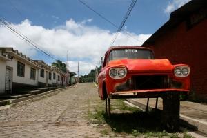 ghosty town; El Salvador