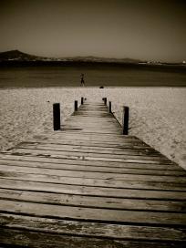 Dock - Paros, Greece