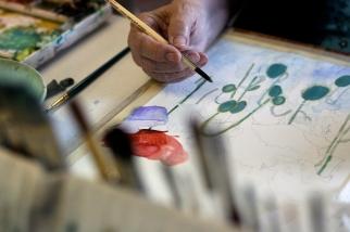 Painter - Cannon Beach, Oregon