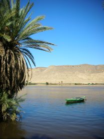 Boat - Nile River, Egypt