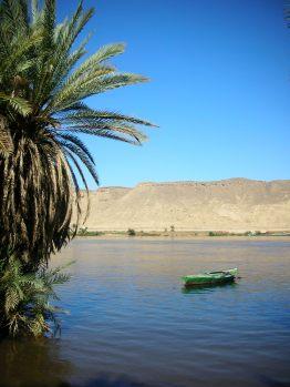 Boat - Nile River, Egypt