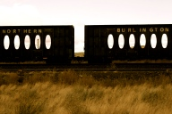 Train Cars - Bend, Oregon