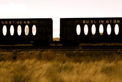 Train Cars - Bend, Oregon