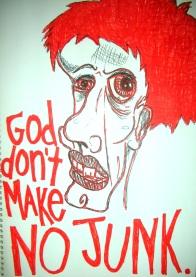 No Junk - Artwork by Erin J. Bernard