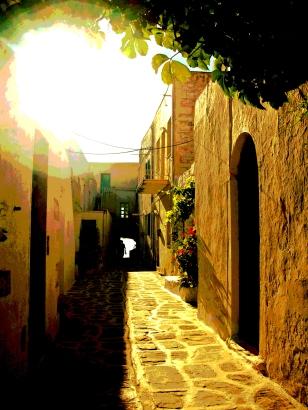 Alley - Paros, Greece