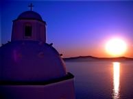 Sunset - Santorini, Greece