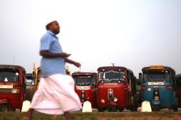 Tuk Tuks - Colombo, Sri Lanka
