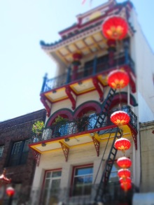 Lanterns - - San Francisco Chinatown, California