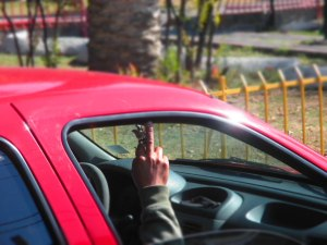 Driver in Mexico City - Erin J. Bernard