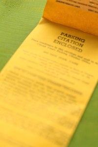 Portland Parking Ticket - Erin J. Bernard