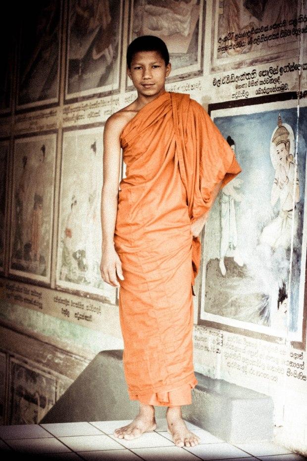 Novice Monk, Sri Lanka - Erin J. Bernard