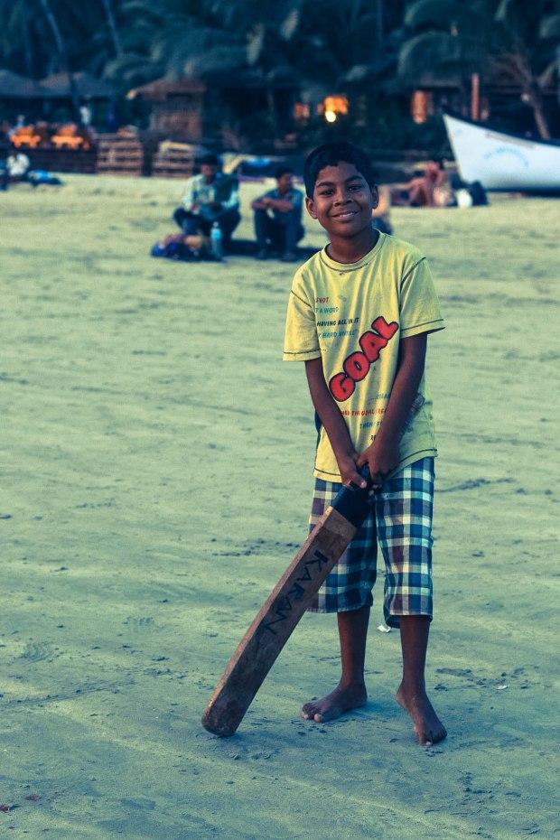 Palolem Boy, India - Erin J Bernard