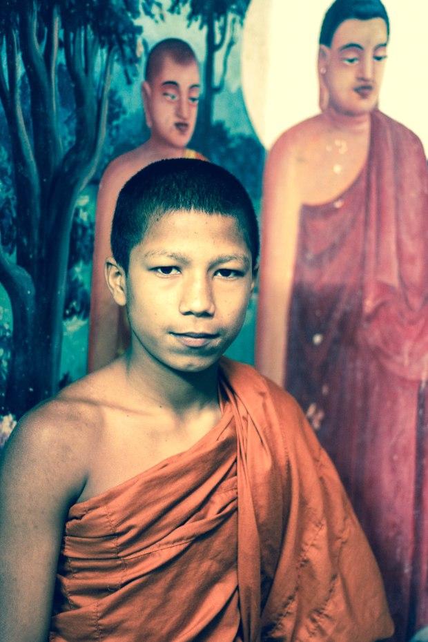 Novice Monk 2, Sri Lanka - Erin J. Bernard