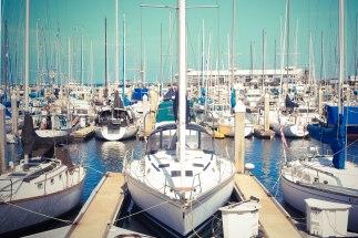 Boats, Monterey, CA - Erin J. Bernard