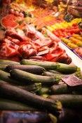Verduras, Mercat Boqueria, Barcelona - Erin J. Bernard