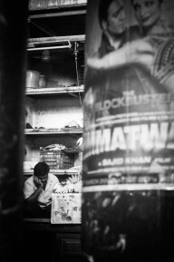 Napping Banana Vendor, , El Salvador - Erin J. Bernard