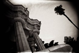 Greek Theatre at Parque Guell; Barcelona, Spain - Erin J. Bernard