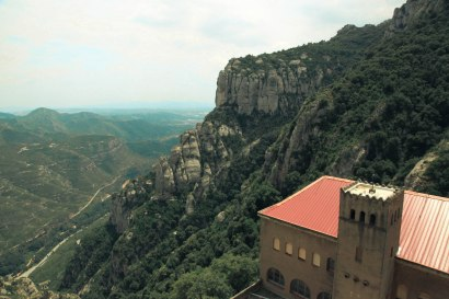 Valley from Montserrat; Montserrat, Spain - Erin J. Bernard