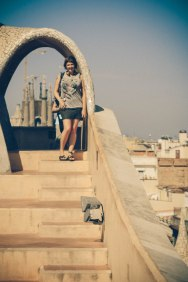 Erin at La Pedrera; Barcelona, Spain - Emiliano Vega