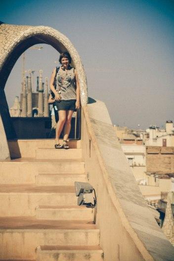 Erin at La Pedrera; Barcelona, Spain - Emiliano Vega