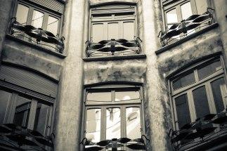 Ventanas, La Pedrera; Barcelona, Spain - Erin J. Bernard