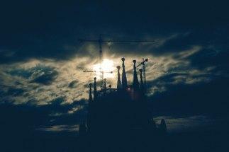 Sagrada Familia at Sunrise; Barcelona, Spain - Erin J. Bernard