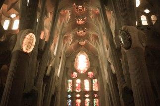 Ceiling, Sagrada Familia; Barcelona, Spain - Erin J. Bernard