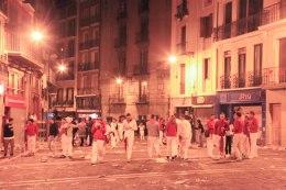 4 a.m.; Pamplona, Spain - Erin J. Bernard