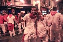 Friends; Pamplona, Spain - Erin J. Bernard