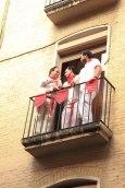 Spectators; Pamplona, Spain - Erin J. Bernard