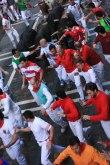Running of the bulls; Pamplona, Spain - Erin J. Bernard