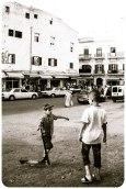 Boys playing near Rue de la Kasbah market, Tangier - Erin J. Bernard