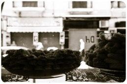 Sweet shop in New Medina, Tangier - Erin J. Bernard