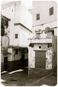 Kasbah corner, Tangier - Erin J. Bernard
