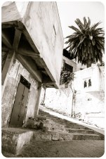 Kasbah street, Tangier - Erin J. Bernard