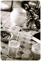 Tea at Dar el Kasbah, Tangier - Erin J. Bernard