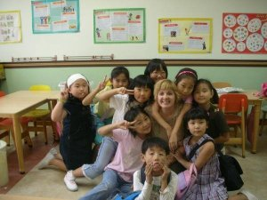 Me and my South Korean Kids - Erin J. Bernard