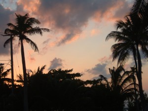 Sunset; Caye Caulker, Belize - Erin J. Bernard