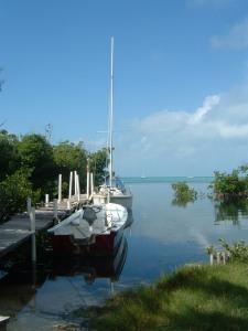 Dock; Caye Caulker, Belize - Erin J. Bernard