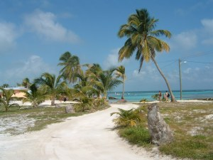 Road on Caye Caulker, Belize - Erin J. Bernard