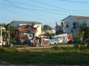 Neighborhood; Caye Caulker, Belize - Erin J. Bernard
