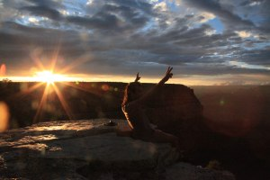 Mano at Grand Canyon - Erin J. Bernard