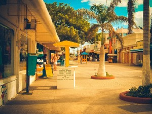 Cozumel Plaza - Erin J. Bernard